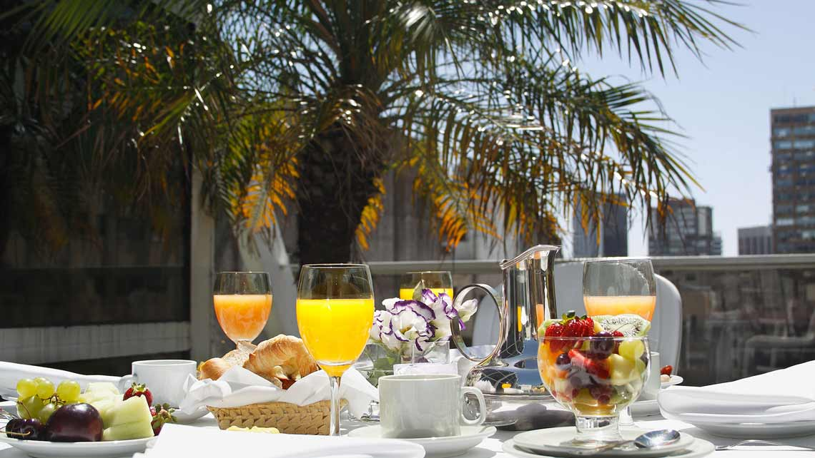 breakfast Terrace