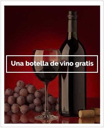 Promocion Botella de vino