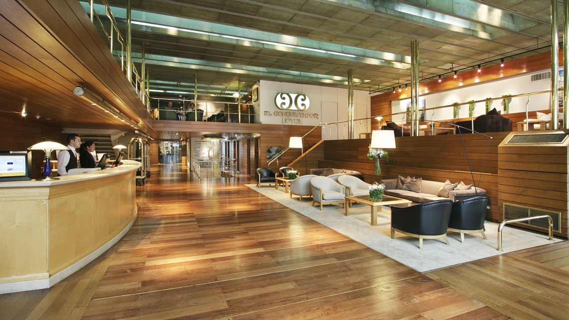 Lobby El Conquistador Hotel